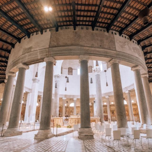 Santo Stefano Rotondo the First Circular Church in Rome