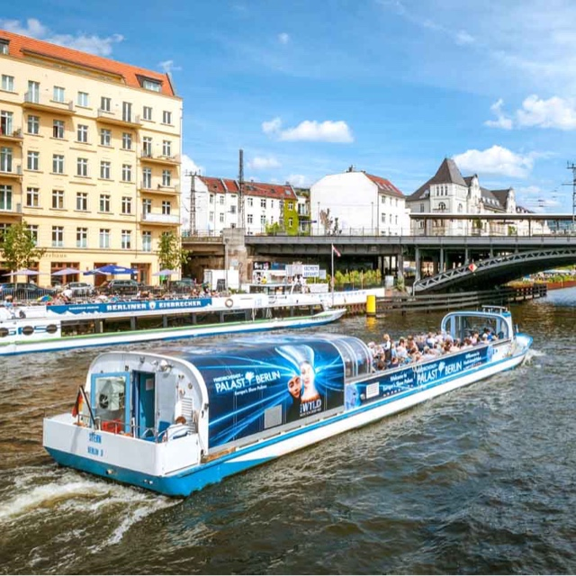 Boat Cruise on the Spree River