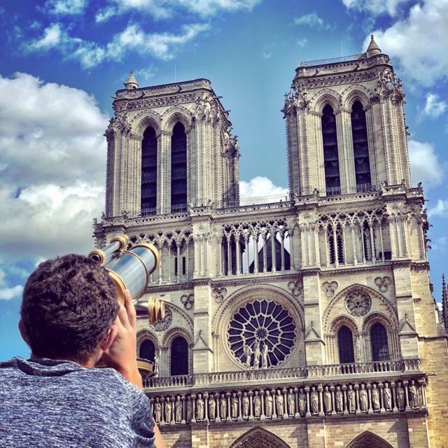 Hunt for Gargoyles in Paris