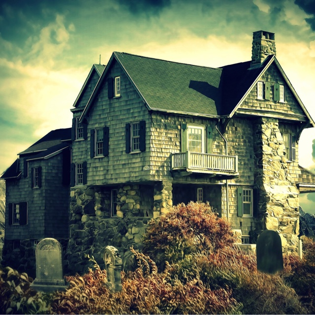 Spend the Night in a Haunted House