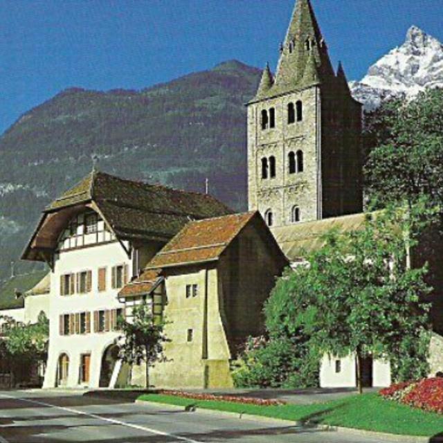 Abbey St. Maurice d'Agaune
