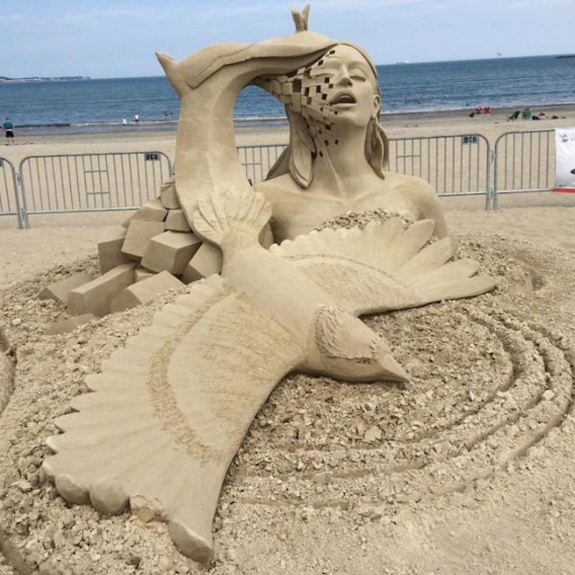 Build a Sand Sculpture