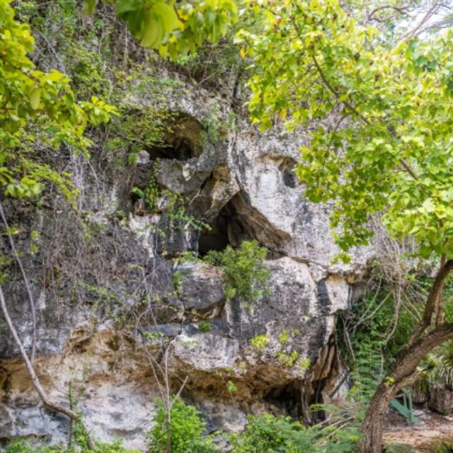 Skull Cave in Cayman Brac