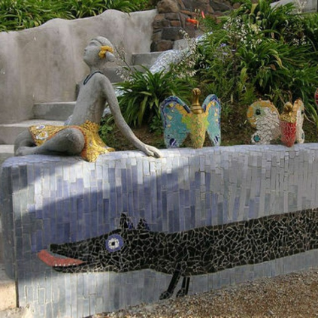 Linton Mosaic Sculpture Garden