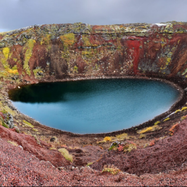 Kerid Crater Lake