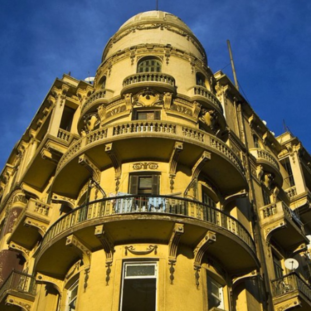 Downtown Cairo Known as Paris of the East
