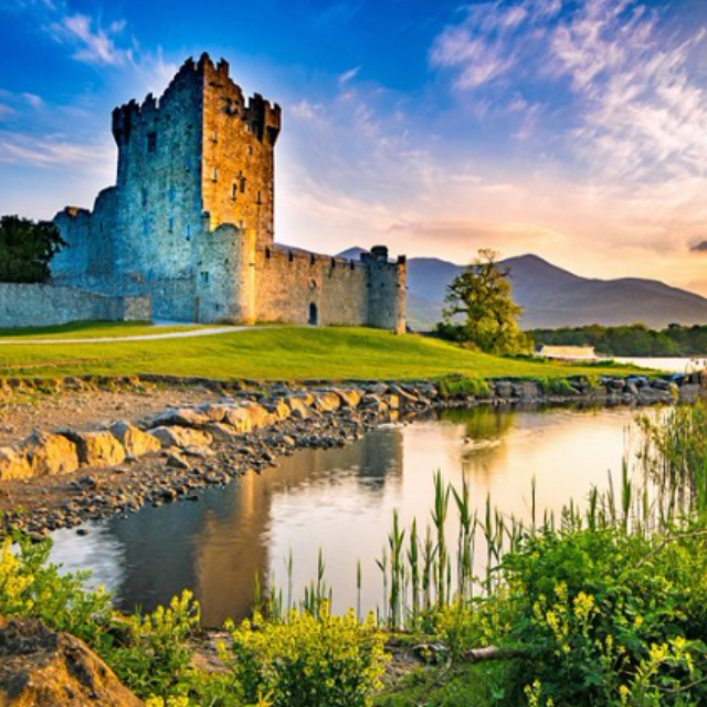 Sleep Overnight at the Haunted Ross Castle