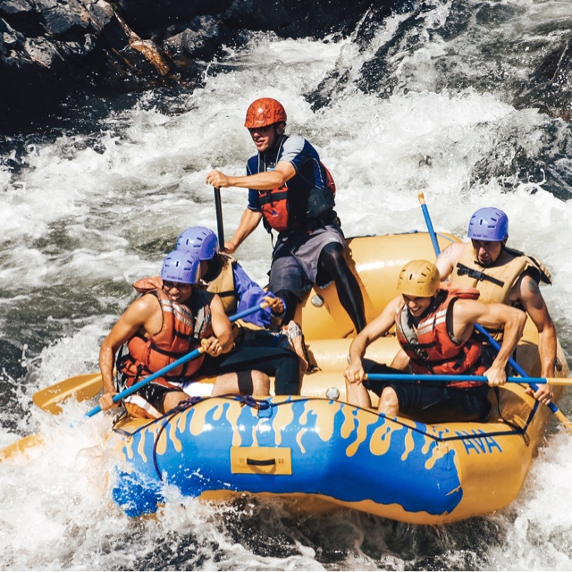 Become a White Water Rafting Guide