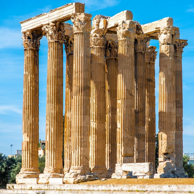 See the Temple of Zeus