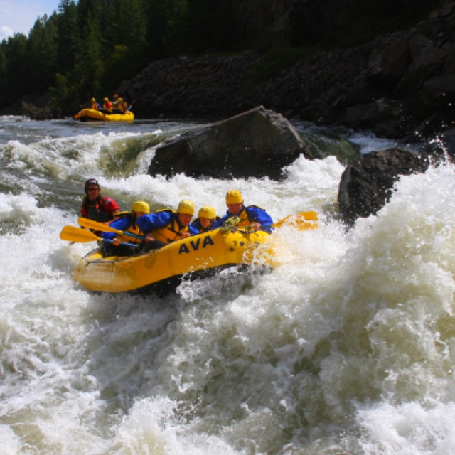 Whitewater Rafting in Gore Canyon