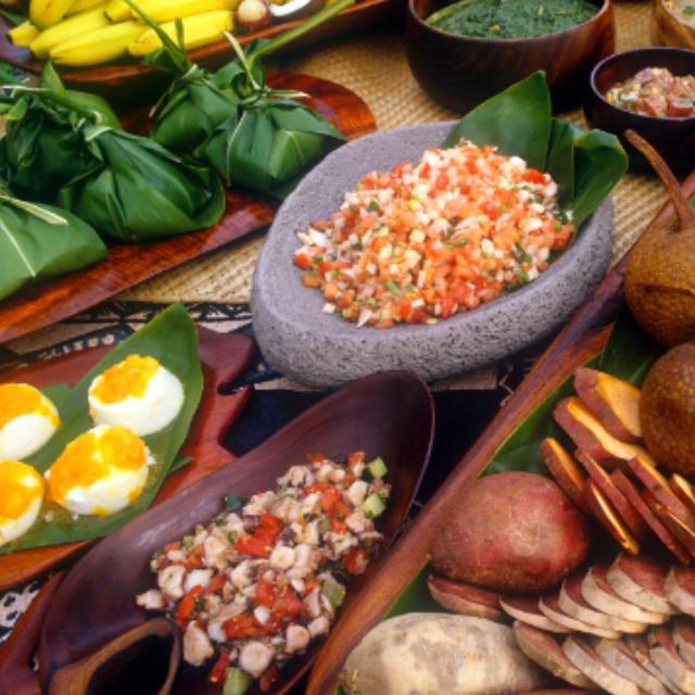 Feast at a Luau