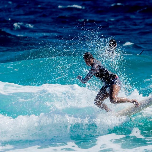 Surf at Eagle Beach