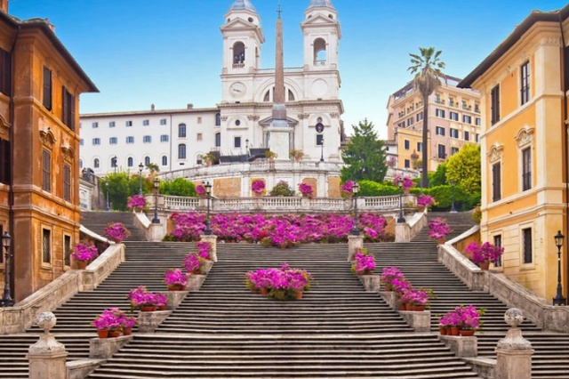 Centro Storico and the Spanish Steps
