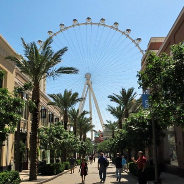 Ride the High Roller Ferris Wheel