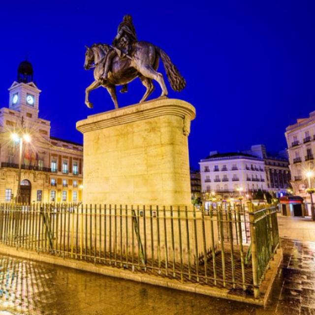 Puerta del Sol the Heart of the City