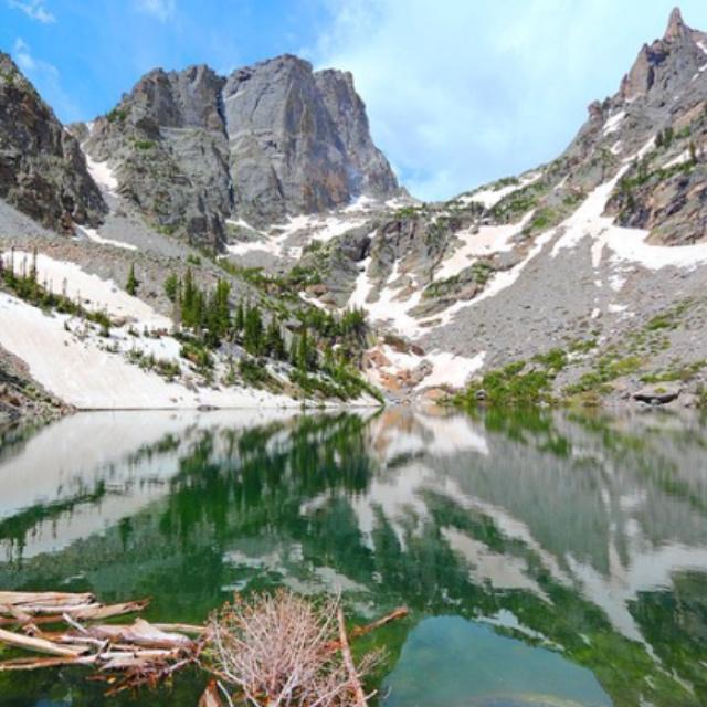 Horseback Trail Ride in Rocky Mountain National Park