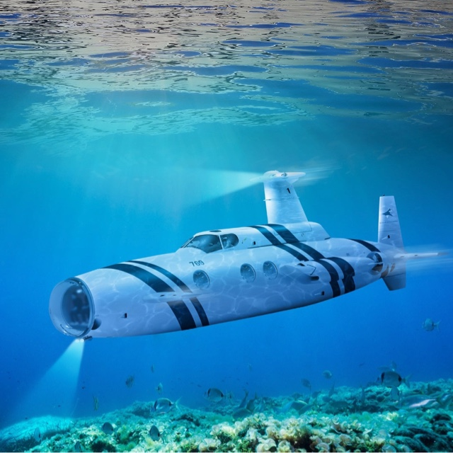 Ride in a Submarine