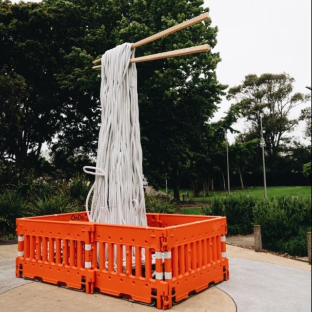 OnDo Giant Noodle Sculpture