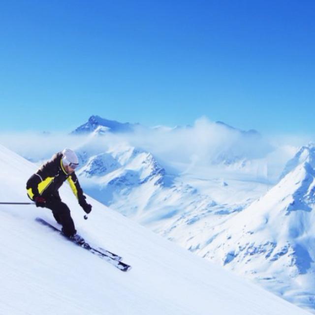 Skiing at Kitzbuhel