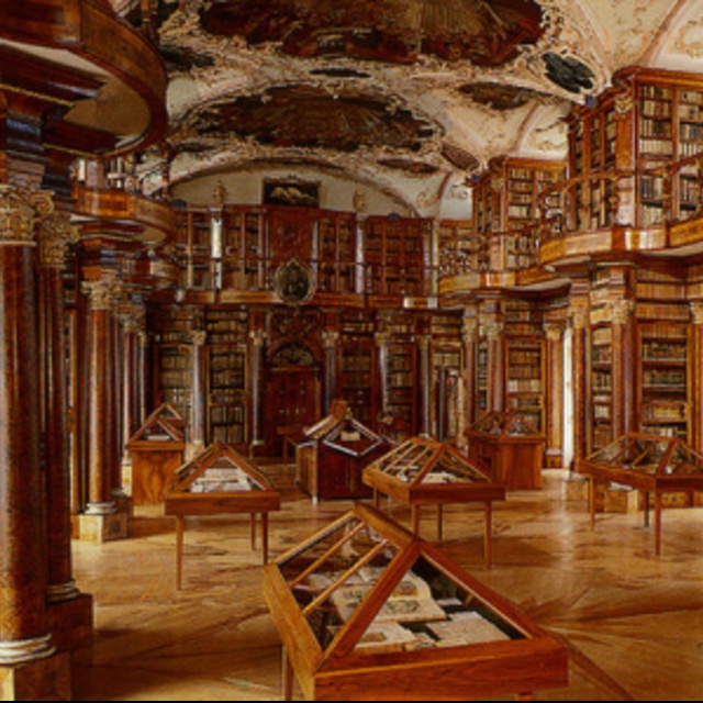 Abbey Library of Saint Gall in St. Gallen