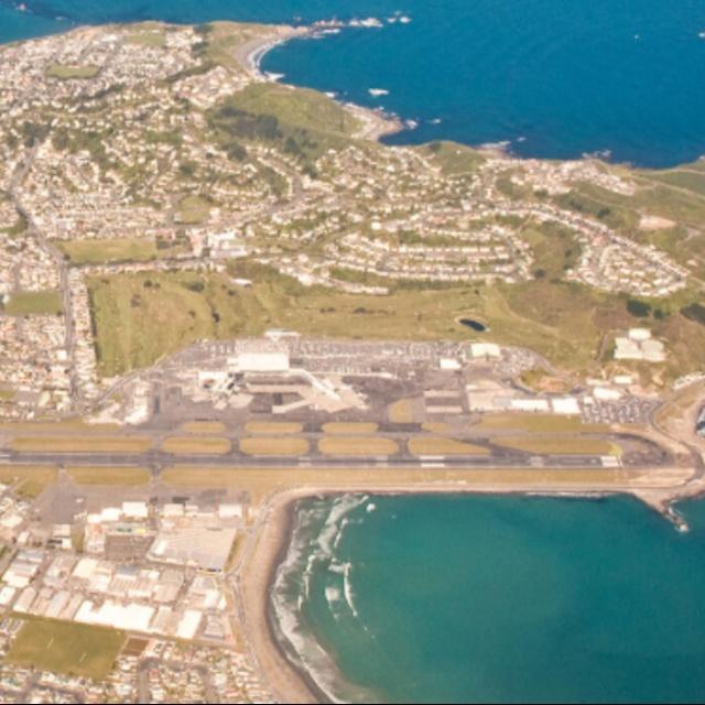 Wellington Airport Runway