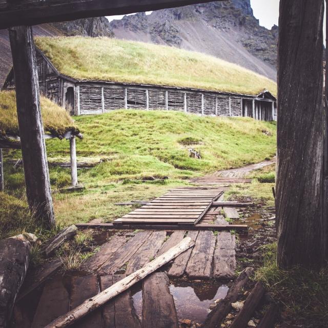 Viking Village Film Set