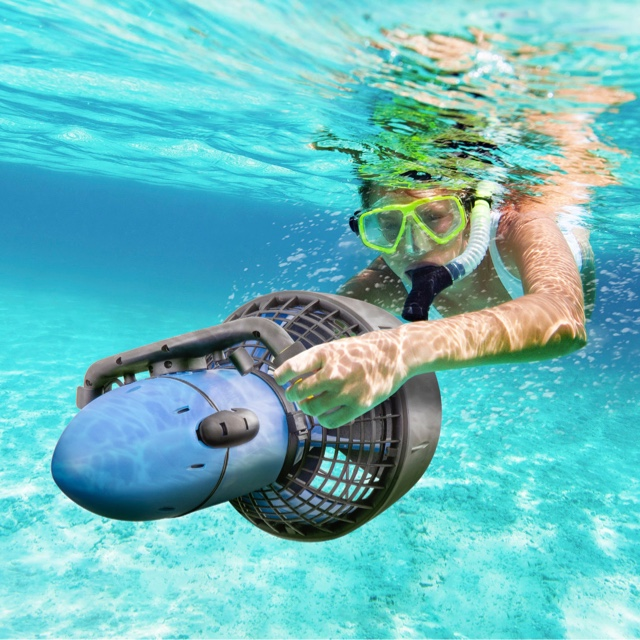 Power Diving with Sea Scooters