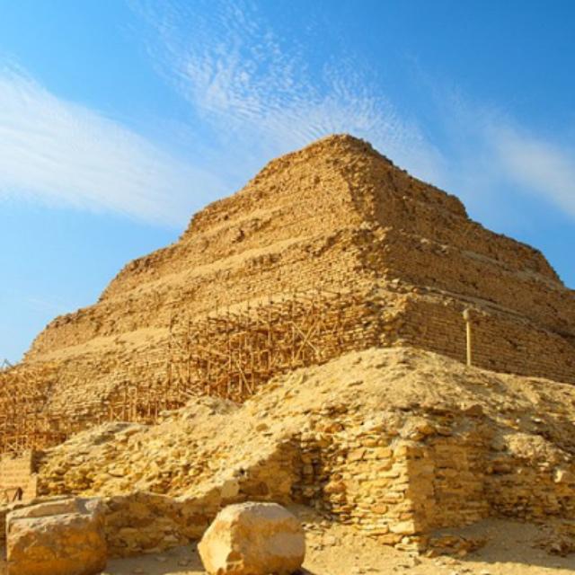 Pyramids in Saqqara and Dahshur