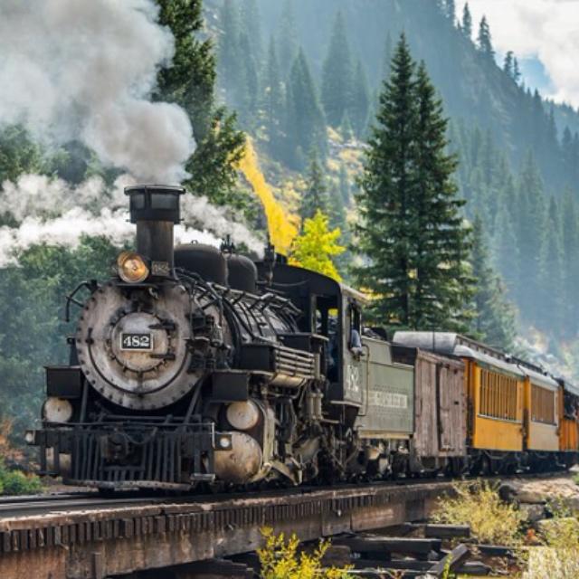 Ride the Narrow Gauge Railway from Durango to Silverton