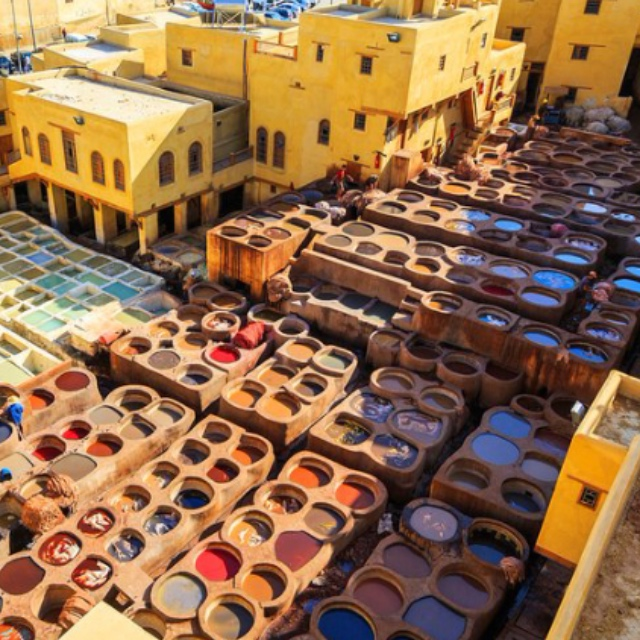 The Medina in Fes