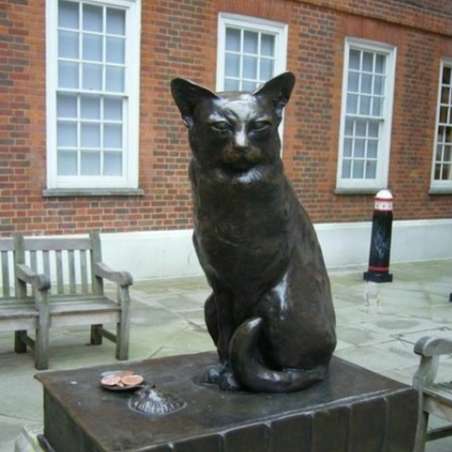 Monument to Hodge the Cat
