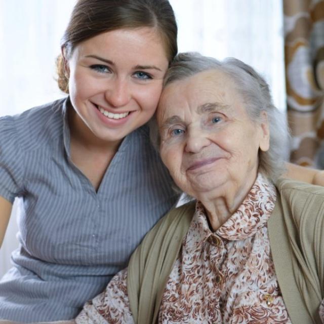 Volunteer at a Nursing Home