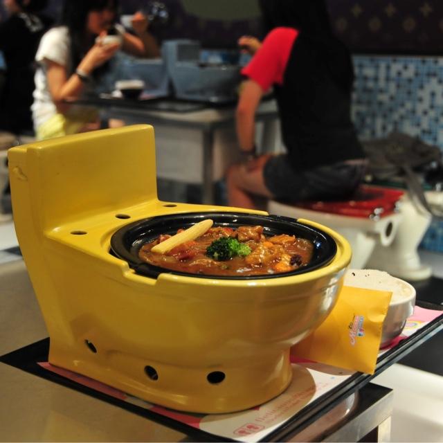 Eat at Modern Toilet Restaurant