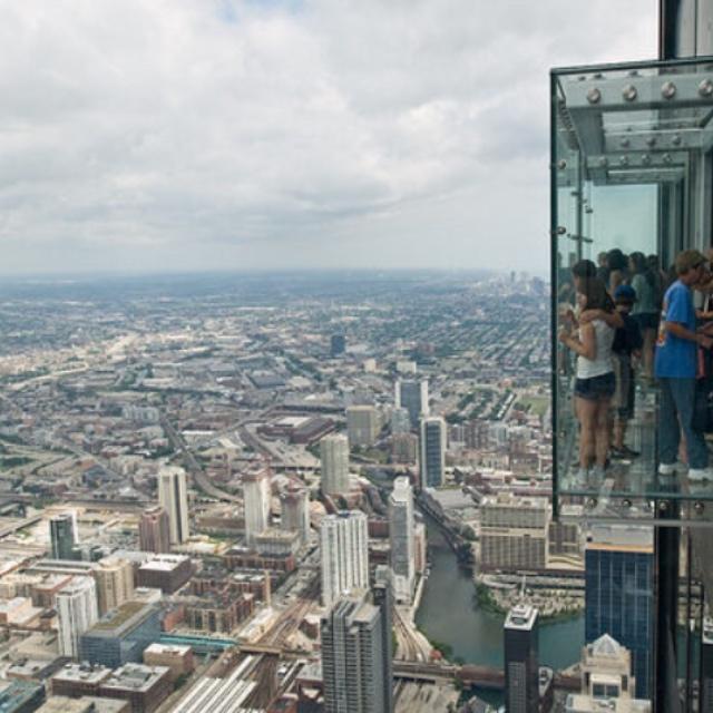 Willis Tower Glass Platform