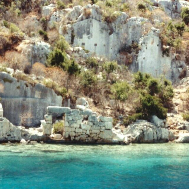 Kekova Island Sunken Ruins