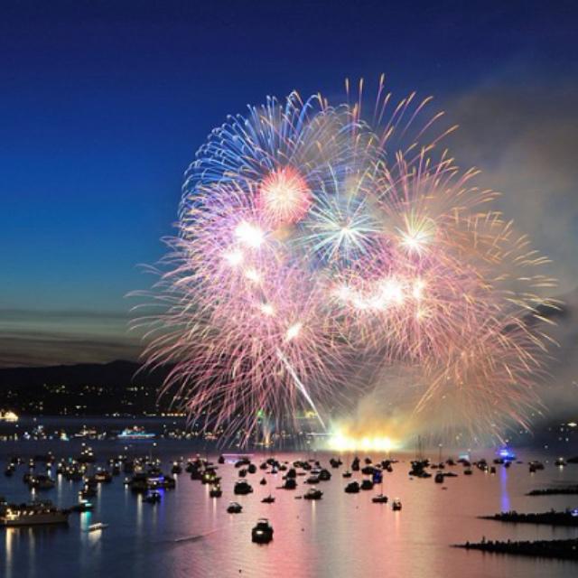Celebration of Light at English Bay