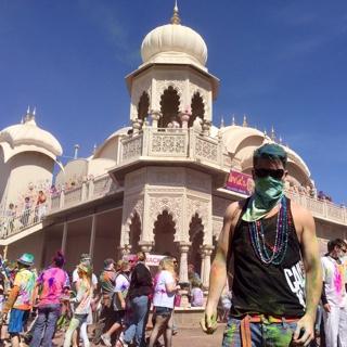 Attend Hare Krisna Color Festival