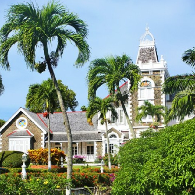 Government House in Morne Fortune