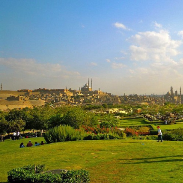 Watch the Sunset from Al Azhar Park