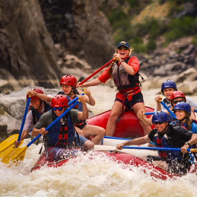 White Water Rafting in Moab